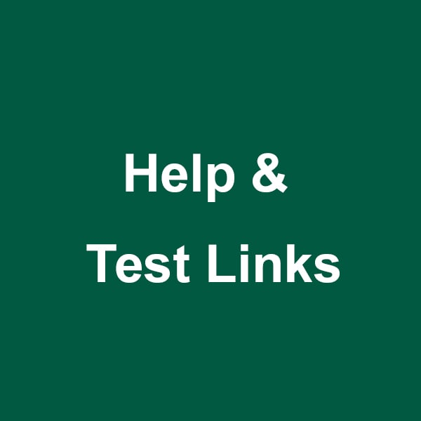 Help and Test Links Lexington KY