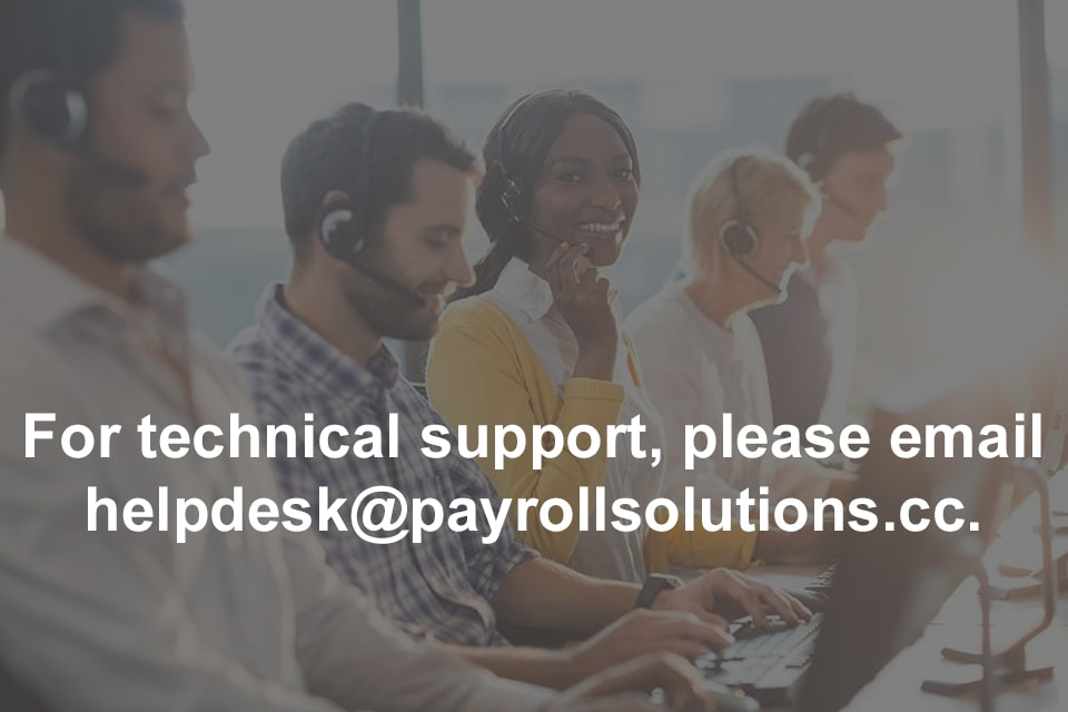 Payroll Solutions Technical Support